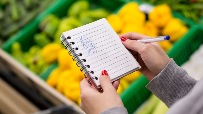 How to Make A Grocery List