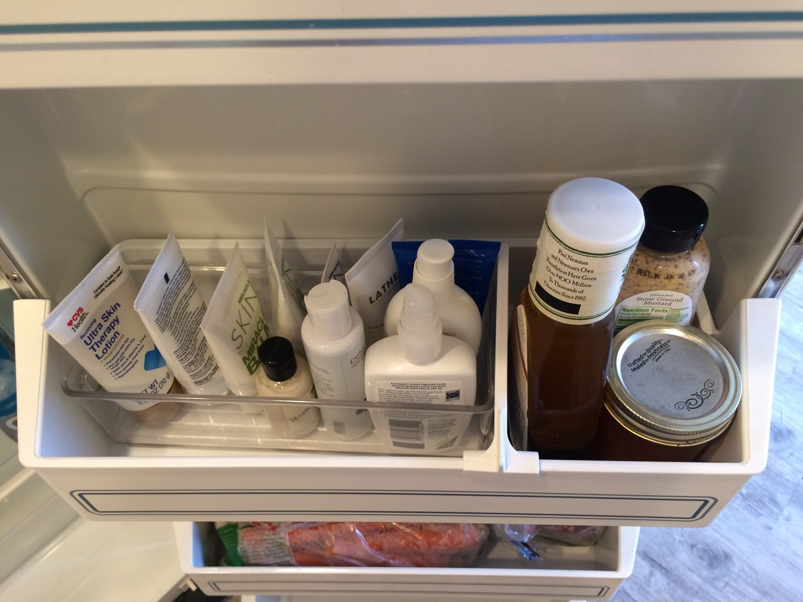 Medicine in Fridge