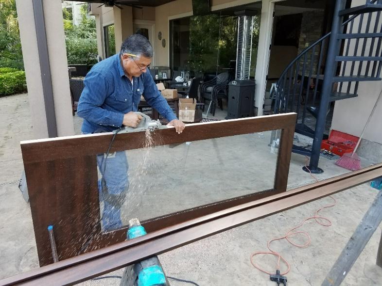 Weather Stripping a Wood Exterior Door