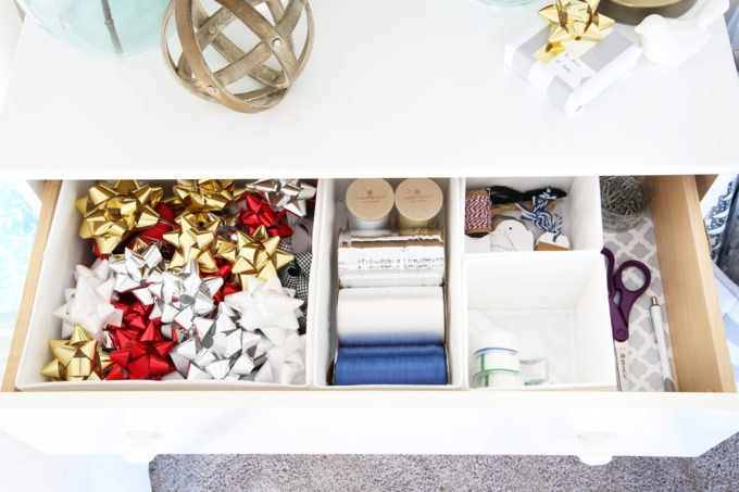 Store Wrapping Paper and Other Gift-Wrapping Supplies