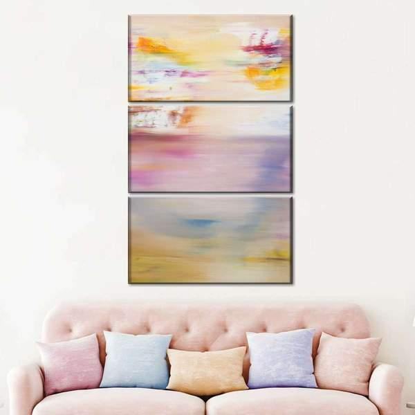 Abstract Painting IX Multi Panel Canvas Wall Art