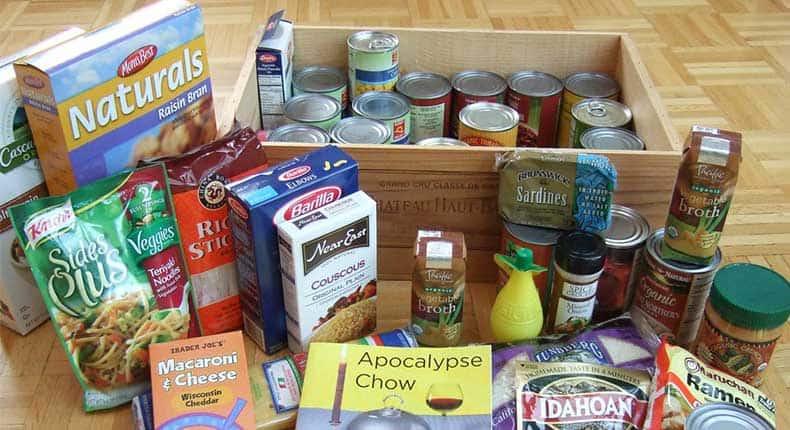 camping food brands & kits