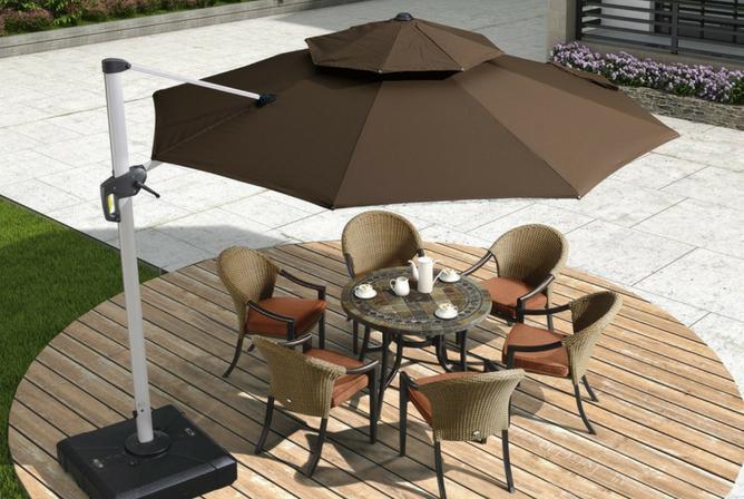 Best Cantilever Patio Umbrella | BackyardGearSpot | Best Backyard ...