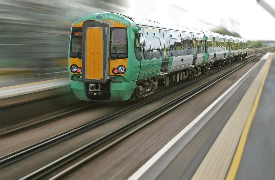 Blur, Commute, Commuting, Locomotive, Metro, Motion
