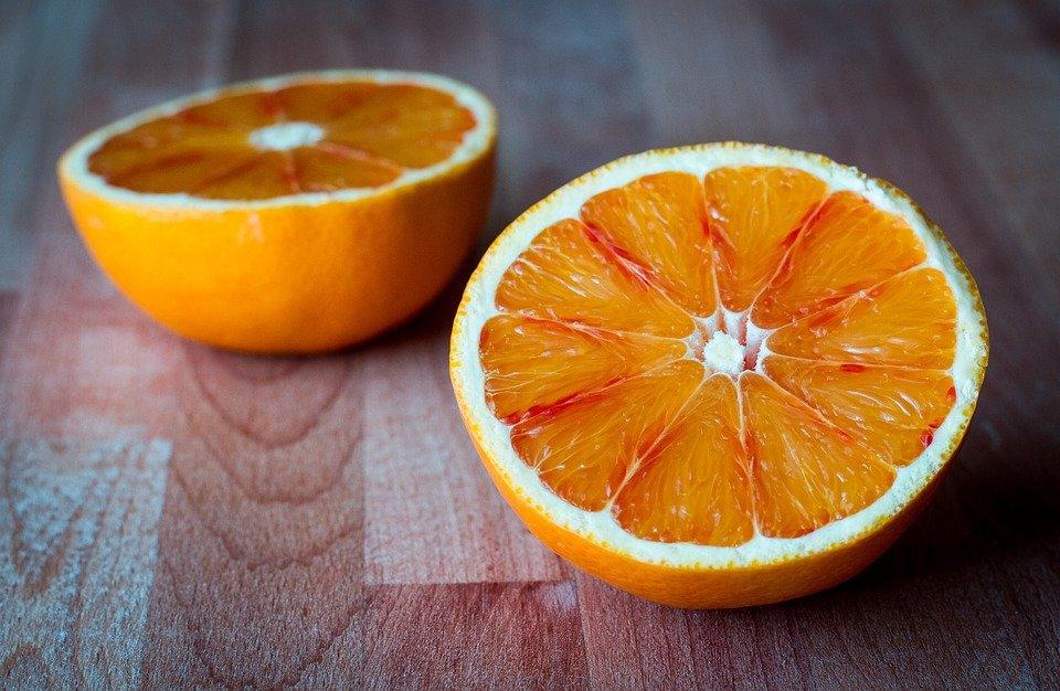 Fruit, Oranges, Sliced, Half, Food, Juicy, Tropical