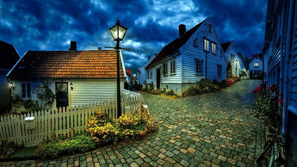 Little Houses, Stone Road, Stone, Road, House, Street