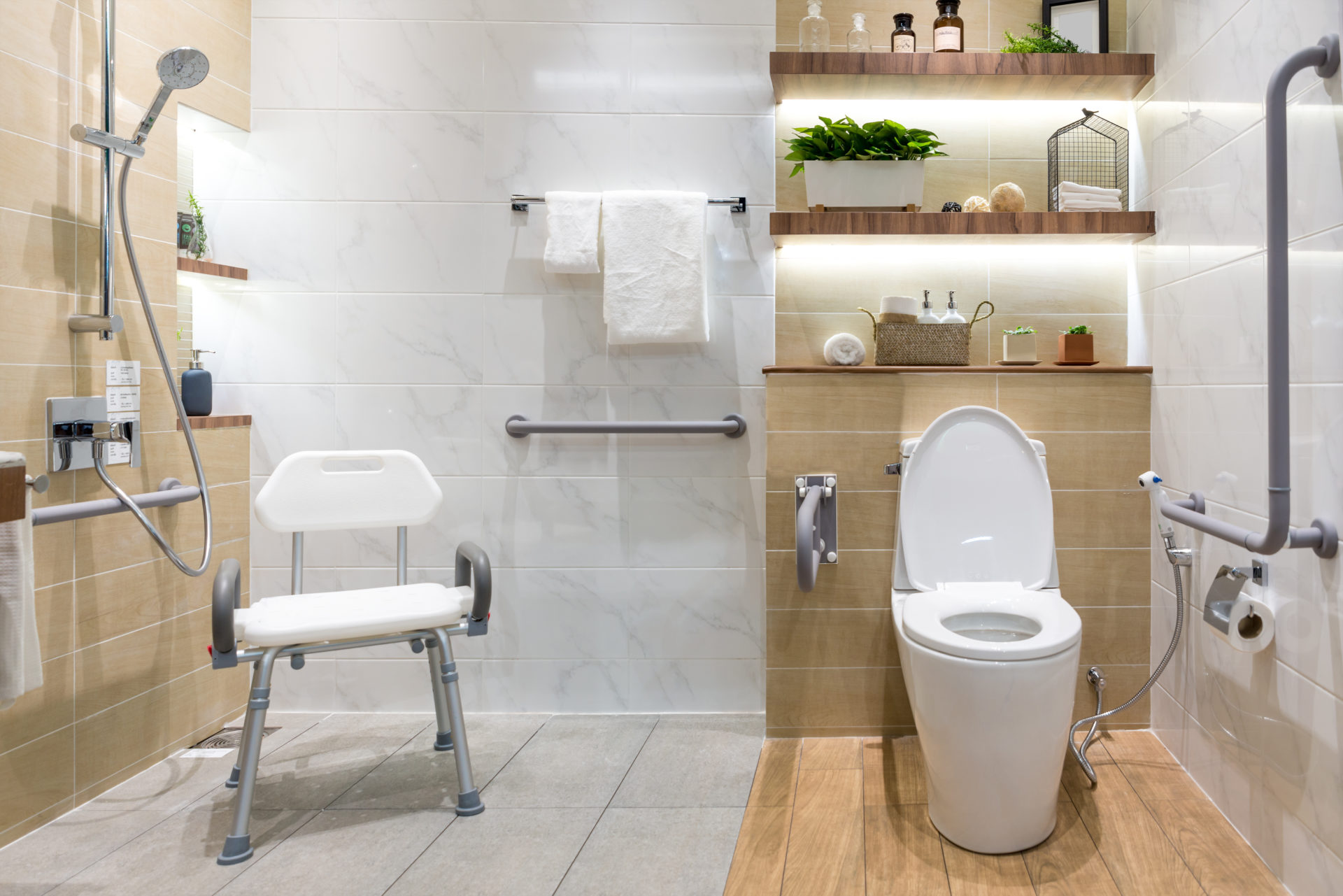 10 Ways to make your bathroom safer for seniors