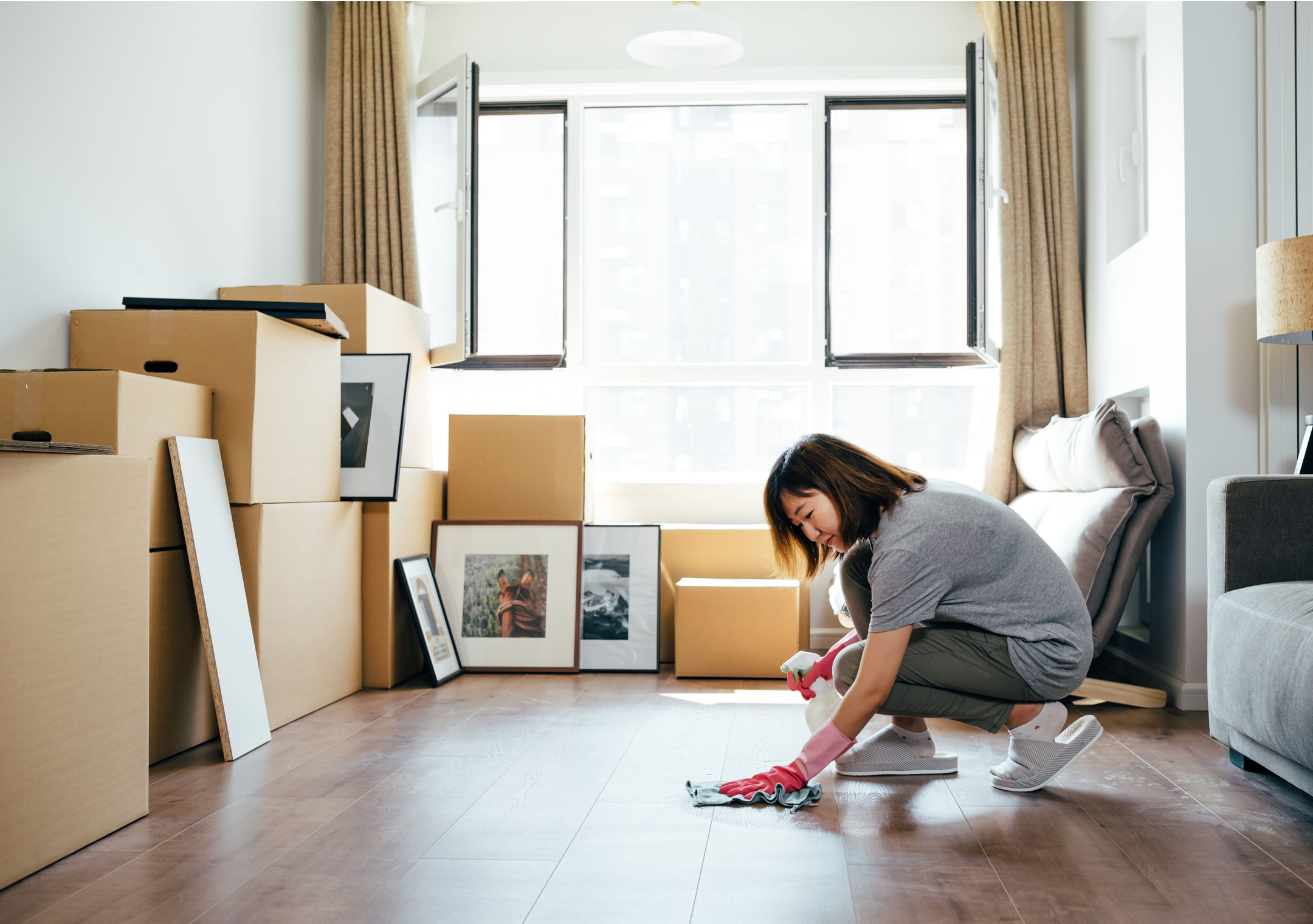 A Guide To Moving Cleaning